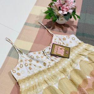 NWT! Juicy Couture Boho Luxe Soft Woven Tank Top